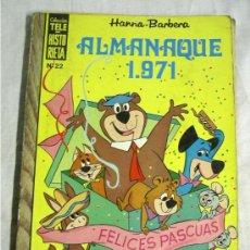 Tebeos: COLECCIÓN TELE HISTORIETA, ALMANAQUE 1971. Lote 20511956