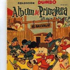 Tebeos: DUMBO PRIMAVERA AÑO 1961. Lote 6029367