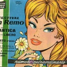 Tebeos: CLARO DE LUNA X FESTIVAL DE SAN REMO. Lote 6029789