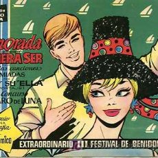 Tebeos: CLARO DE LUNA III FESTIVAL DE BENIDORM. Lote 6029909