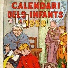 Tebeos: ELS INFANTS AÑO 1958. Lote 6030120