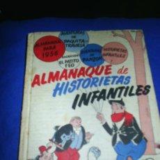 Tebeos: M69 ALMANAQUE DE HISTORIETAS INFANTILES 1955 - 1956. Lote 6199242