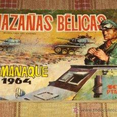 Tebeos: HAZAÑAS BÉLICAS ALMANAQUE 1964. TORAY. 10 PTS. REGALO HAZAÑAS BÉLICAS Nº 294 AZUL.. Lote 14026528