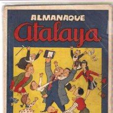 Tebeos: ATALAYA ALMANAQUE 1946 -- --- ORIGINAL. Lote 10961674