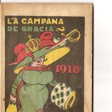 Tebeos: LA CAMPANA DE GRACIA 1918. Lote 27186029