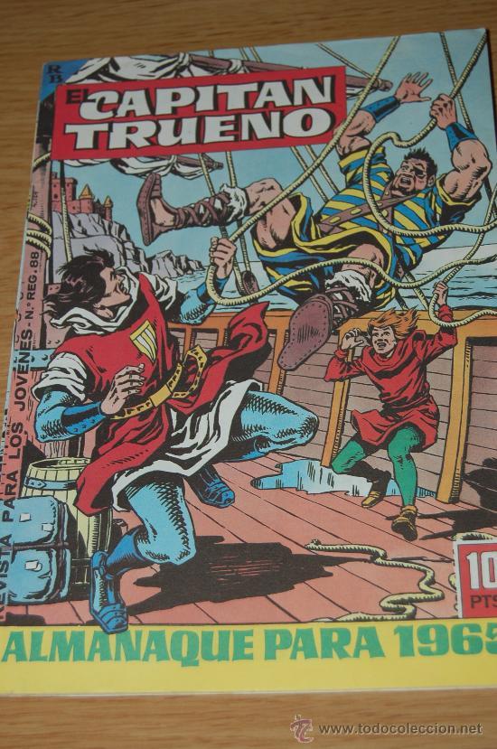 EL CAPITÁN TRUENO : ALMANAQUE PARA 1965. FACSÍMIL (Tebeos y Comics - Tebeos Almanaques)
