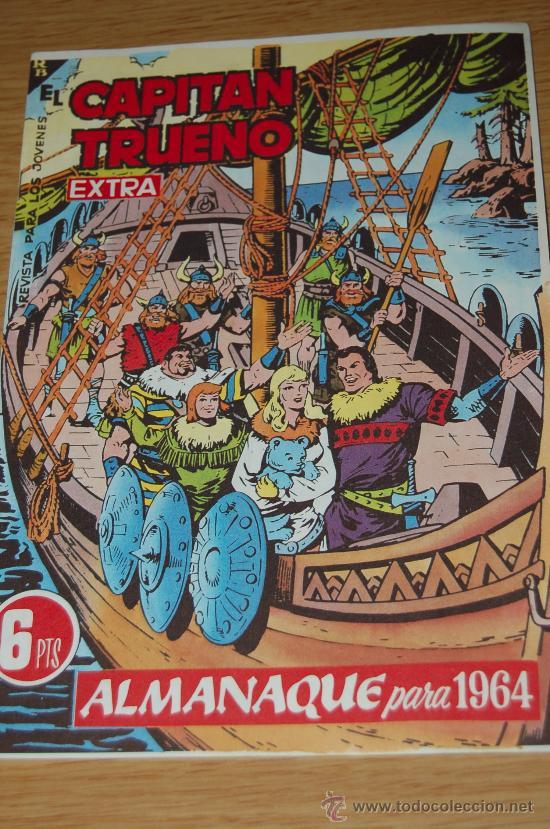 EL CAPITÁN TRUENO : ALMANAQUE PARA 1964. FACSÍMIL (Tebeos y Comics - Tebeos Almanaques)