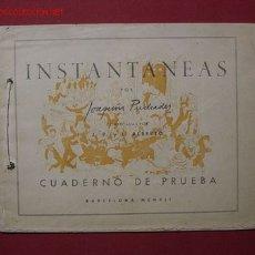 Tebeos: INSTANTANEAS POR JOAQUIN PUCHADES (1941) .... ¡¡ Nº MONOGRAFICO !!. Lote 26660534