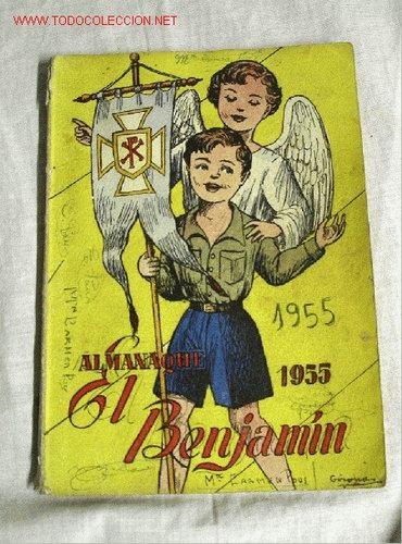 EL BENJAMIN AÑO 1955 (Tebeos y Comics - Tebeos Almanaques)