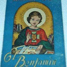Tebeos: EL BENJAMIN -- ALMANAQUE 1958 -- PRECIOSO ORIGINAL CON RECORTABLES PARA HACER UN TEATRO. Lote 10977614