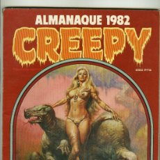 Tebeos: CREEPY - ALMANAQUE 1982. Lote 16571016