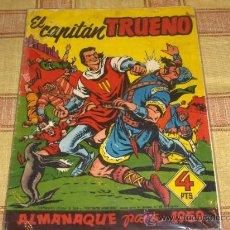 Tebeos: EL CAPITÁN TRUENO ALMANAQUE 1959. BRUGUERA 4 PTS. ORIGINAL.. Lote 16963718