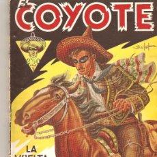 Tebeos: LA VUELTA DEL COYOTE Nº 1 ED. CLIPER. 1946. Lote 27316058