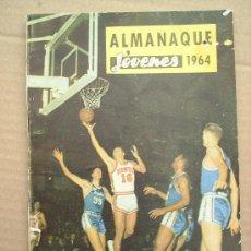 Tebeos: ALMANAQUE JOVENES 1964 - DIBUJOS J BLASCO LA CABEZA DEL REY. Lote 24991346