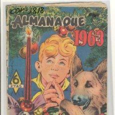 Tebeos: (COM-1818)COMIC ALMANAQUE RIN-TIN-TIN AÑO 1963. Lote 13012316
