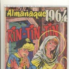 Tebeos: (COM-1817)COMIC ALMANAQUE RIN-TIN-TIN AÑO 1964. Lote 13012326