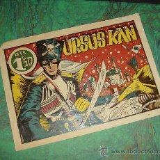 Tebeos: URSUS KAN (DE HARO - 1948). ¡¡ IMPRESIONANTE MONOGRAFICO !!. Lote 26756253
