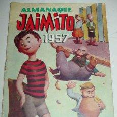 Tebeos: JAIMITO - ALMANAQUE DE 1957. Lote 27445185