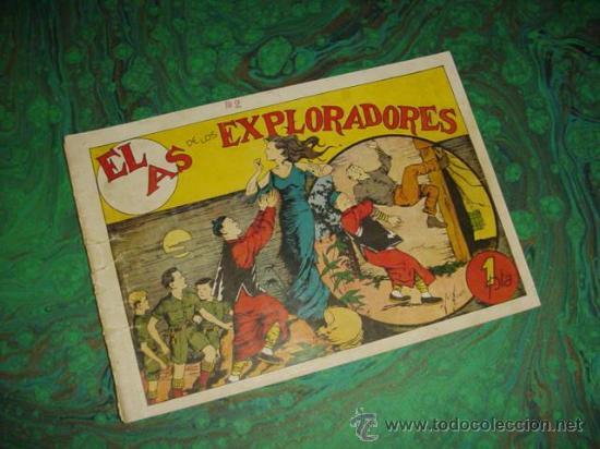 EL AS DE LOS EXPLORADORES (GUERRI) ... Nº 8 (Tebeos y Comics - Tebeos Almanaques)