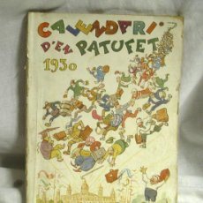 Tebeos: CALENDARI PATUFET ANY 30, DIBUIXOS DE CORNET. Lote 26649281