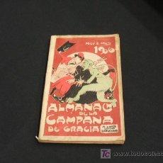 Tebeos: ALMANAQUE DE LA CAMPANA DE GRACIA - AÑO 1906. Lote 26959819