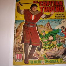 Tebeos: CAPITAN TRUENO ALBUM GIGANTE Nº 21 ORIGINAL. Lote 26537685