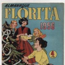 Tebeos: FLORITA. ALMANAQUE 1956.. Lote 17553478