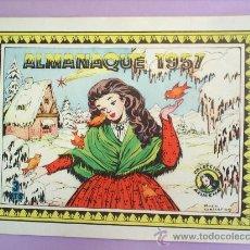 Tebeos: ALMANAQUE , 1957 AZUZENA, ORIGINAL , COMO NUEVO, MARIA PASCUAL , ISABEL BAS . Lote 20379751