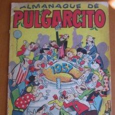 Tebeos: ALMANAQUE DE PULGARCITO 1957. Lote 27085533