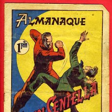 Tebeos: ALMANAQUE , JUAN CENTELLA , 1951 , ORIGINAL ,HISPANO AMERICANA. Lote 25742783