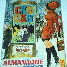 Tebeos: CAN CAN -- ALMANAQUE PARA 1965 - ORIGINAL. Lote 18855448