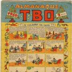 Livros de Banda Desenhada: (COM-2028)COMIC ORIGINAL DE EPOCA TBO ALMANAQUE 1950. Lote 19651627