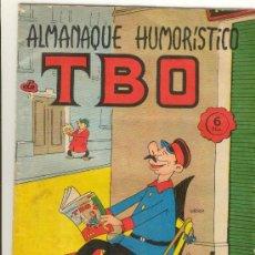 Livros de Banda Desenhada: (COM-2026)COMIC ORIGINAL DE EPOCA TBO ALMANAQUE HUMORISTICO1966. Lote 19651678