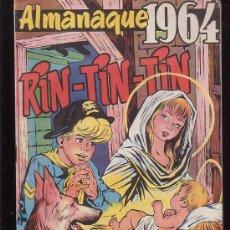 Tebeos: RIN TIN TIN - ALMANAQUE 1964 - EDITA : MARCO AÑO 1964. Lote 22724163