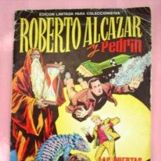 Tebeos: ALBUM GIGANTE ROBERTO ALCAZAR Y PEDRIN , LAS PUERTAS DEL TIEMPO. Lote 27253006