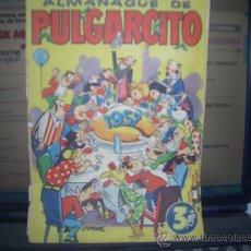 Tebeos: PULGARCITO ALAMANAQUE 1957---FALTAN PAGINAS---. Lote 28952217