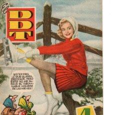 Tebeos: EL DDT ALMANAQUE PARA 1959 DE BRUGUERA. Lote 27543372