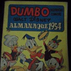 Tebeos: DUMBO , ALMANAQUE 1954. Lote 31863808