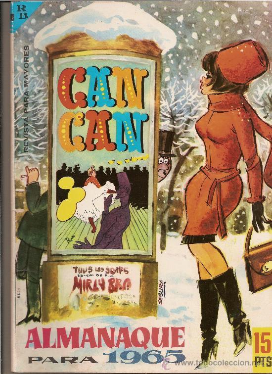 CAN CAN ALMANAQUE PARA 1965 (Tebeos y Comics - Tebeos Almanaques)