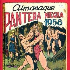 Comics - ALMANAQUE PANTERA NEGRA 1958, MAGA , ORIGINAL - 104808527