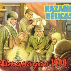 Tebeos: ALMANAQUE AZAÑAS BELICAS 1990. Lote 26693033