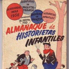 Tebeos: ALMANAQUE ORIGINAL DE HISTORIETAS INFANTILES 1955 - 56. Lote 26612006