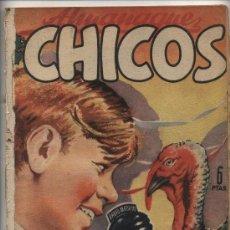 Tebeos: CHICOS. ALMANAQUE 1949.. Lote 25583307