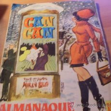 Tebeos: CAN CAN ALMANAQUE PARA 1965 ( ORIGINAL ED. BRUGUERA ) ( F2). Lote 26071440