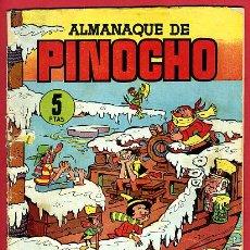 Tebeos: ALMANAQUE PINOCHO DE CLIPER , 1958 , ORIGINAL ,B. Lote 26411690