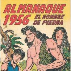 Tebeos: EL HOMBRE DE PIEDRA - ALMANAQUE 1956- ORIGINAL- PERFECTO -- (COM-6). Lote 27502505