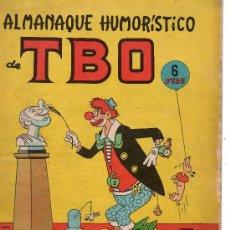 Tebeos: ALMANAQUE HUMORISTICO TBO PARA 1965 DE BUIGAS. Lote 27795659