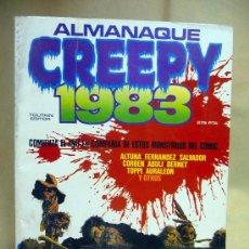 Tebeos: COMIC, ALMANAQUE, CREEPY 1983, TOUTAIN. Lote 27944014
