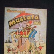Tebeos: ALMANAQUE MUSTAFA 1961 - EDITORIAL VALENCIANA -. Lote 28092253