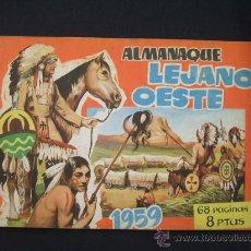 Tebeos: LEJANO OESTE - ALMANAQUE 1959 - ORIGINAL - EDIGESA - -. Lote 28098541